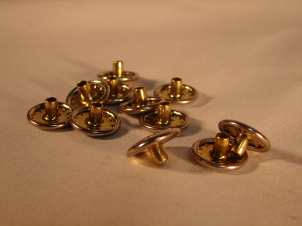 Fasteners (Snaps) Caps Brass Stainless 10128