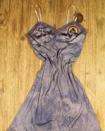 Lyrical Muse Slip Dress-Dusk & Rainbow