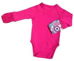 BAMBOO BUBBY Scratch Me Not Body Suit - Pink - FREE SHIPPING