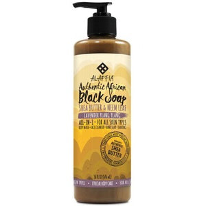 ALAFFIA Black Soap Lavender Ylang Ylang - 476ml