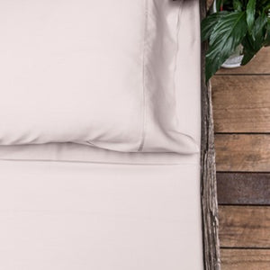 Organic Bamboo Bed Sheet Set - Blush