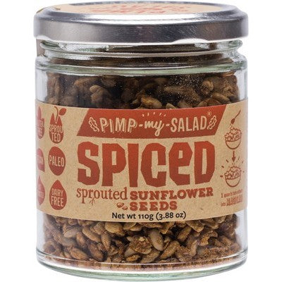 EXTRAORDINARY FOODS Pimp My Salad Spiced Sprouted Sunflower Seeds - 110g