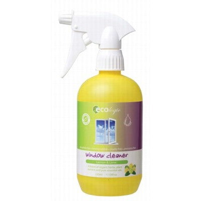ECOLOGIC Lemon & Lime Window Cleaner 520ml