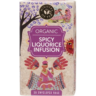 MINISTRY OF TEA Spicy Liquorice Infusion 20