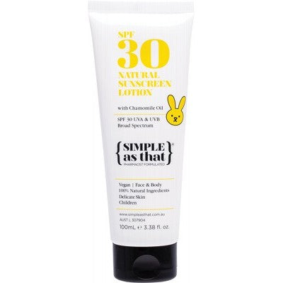 SIMPLE AS THAT Children Sunscreen Lotion - 100ml