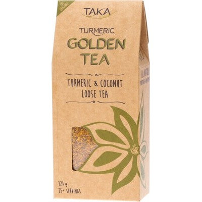 TAKA TURMERIC Golden Tea Turmeric & Coconut 125g