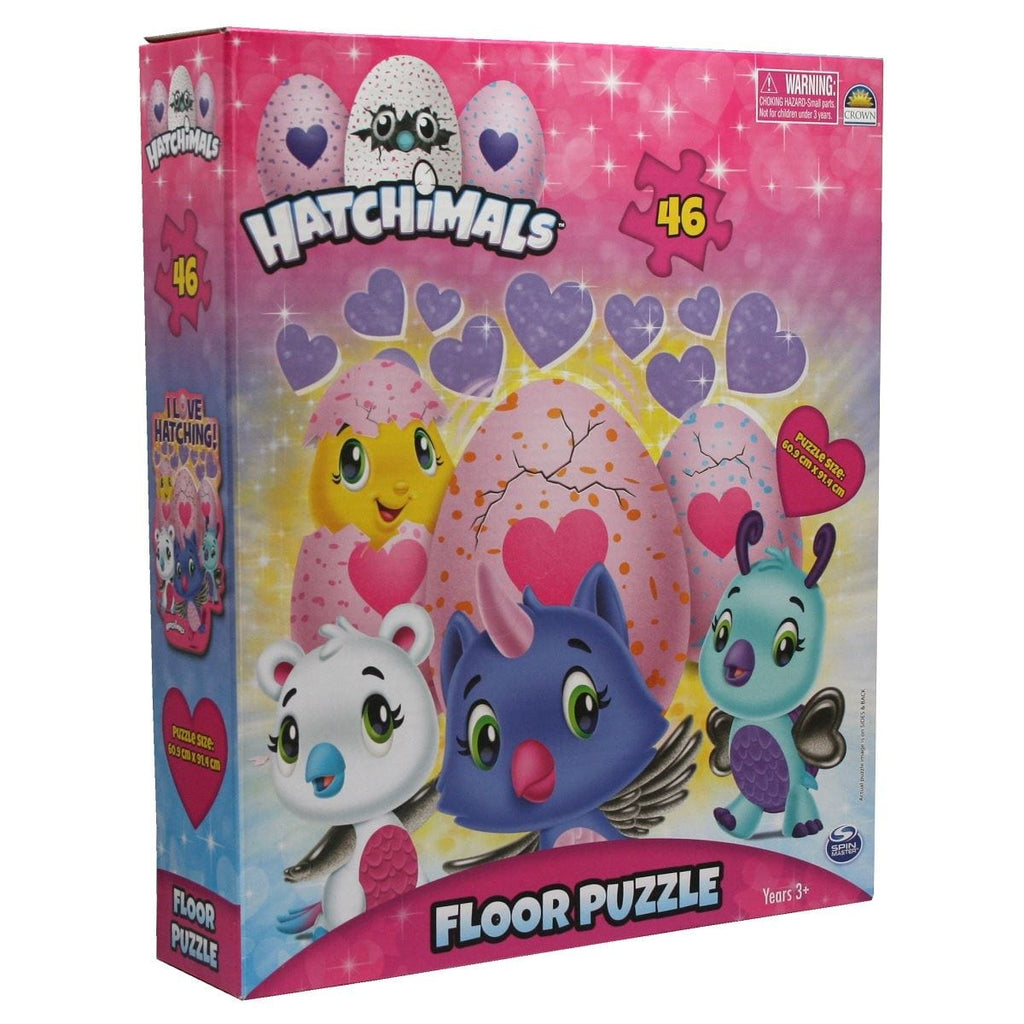 Hacthimals 46 Piece Puzzle Egg