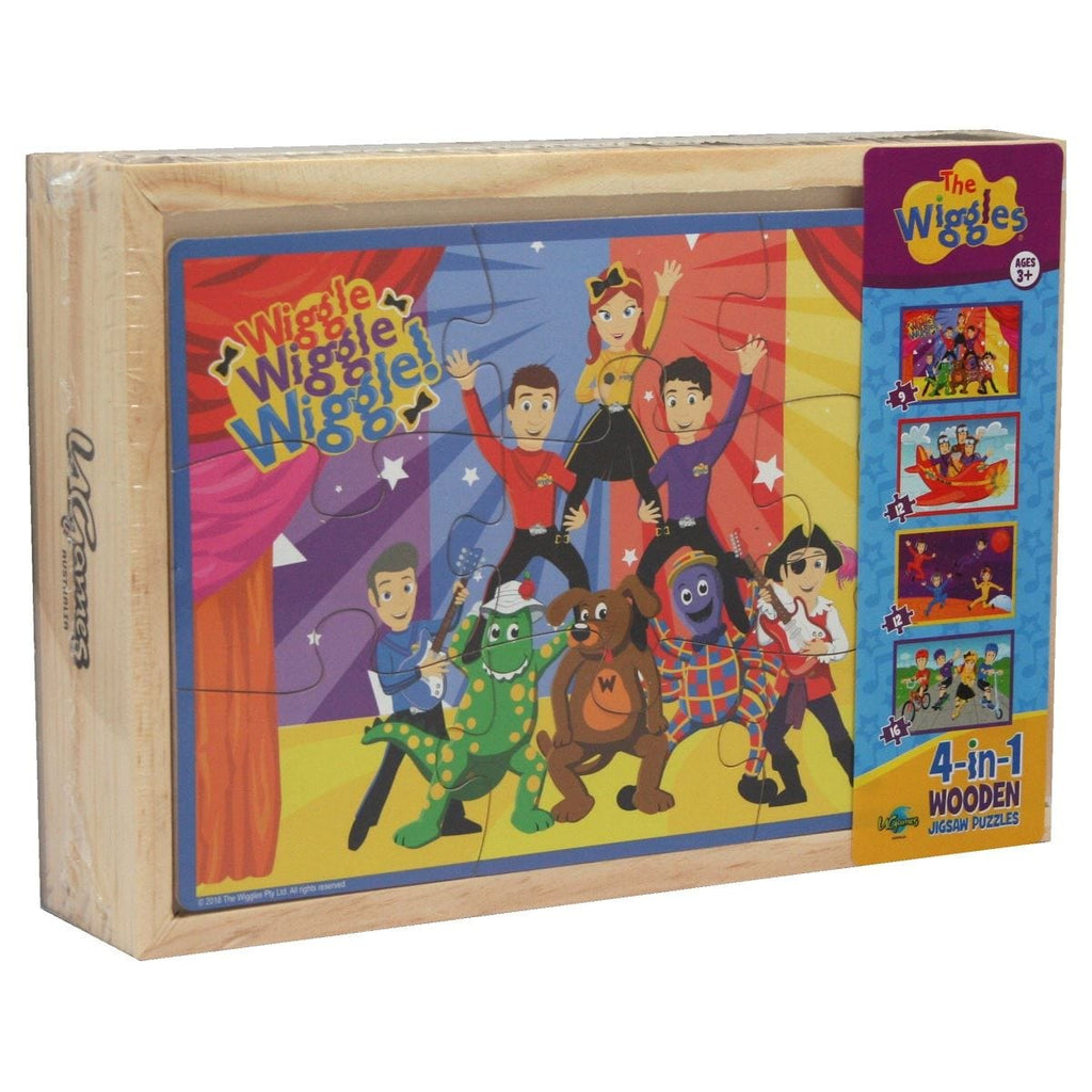 The Wiggles 4 in 1 Puzzle