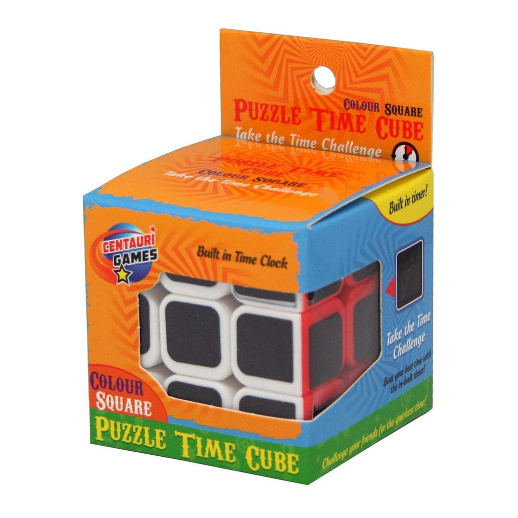 Puzzle Time Cube Colour Square