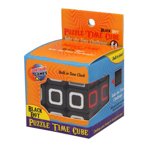 Puzzle Time Cube Black Dot