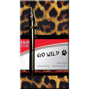 Notebook Blank Pages Leopard Skin Design, [Product Type] - Daves Deals