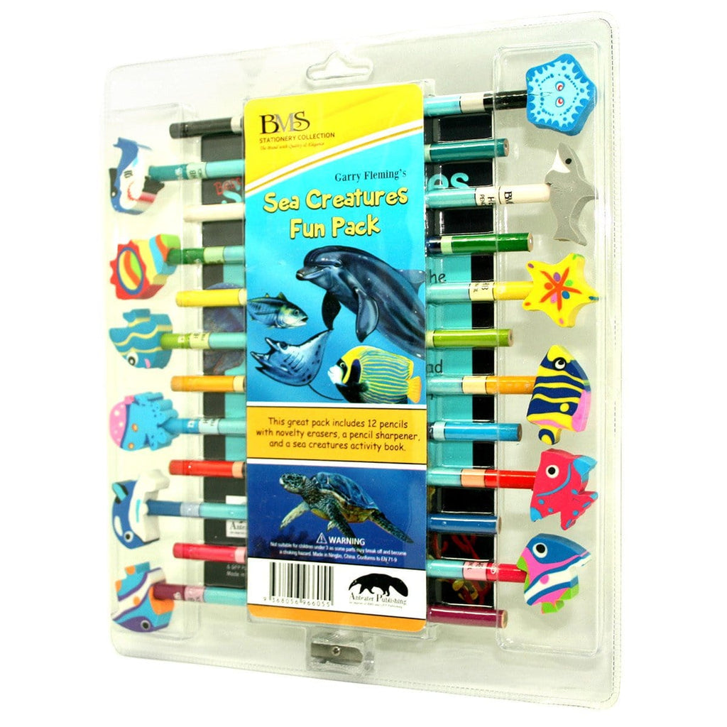 Garry Fleming's Sea Creatures Fun Pack - Books - Daves Deals - 1