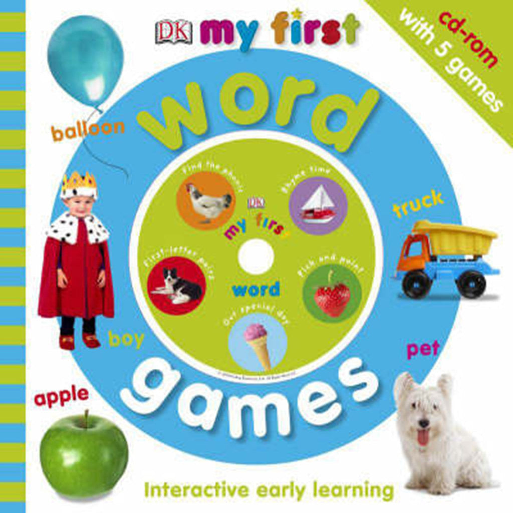 My First Word Games, by Dorling Kindersley, [Product Type] - Daves Deals