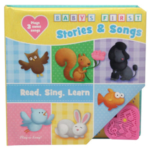 Baby's First Stories & Songs, Read, Sing, Learn Play-a-Sound Book, [Product Type] - Daves Deals