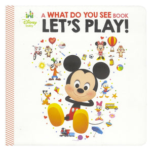 Disney Baby Mickey and Friends - What Do You See?