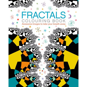 Fractals Colouring Book - By Arcturus Publishing - Books - Daves Deals