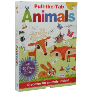 Pull-The-Tab Animals - By Oakley Graham, Illustrated by Steph Hinton, [Product Type] - Daves Deals