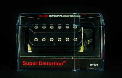 DiMarzio DP100 Super Distortion Humbucker Guitar Pickup - Black