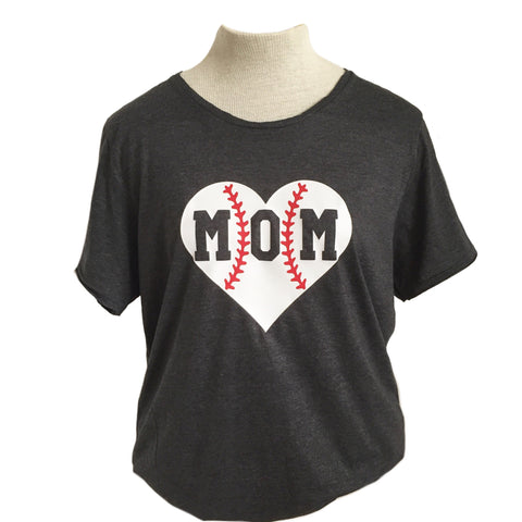 Baseball Mom Adult Tee