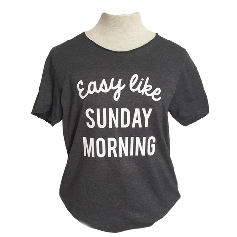 Easy like Sunday Morning Adult Tee