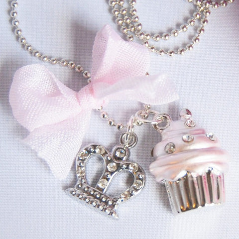 Cupcake Princess Necklace
