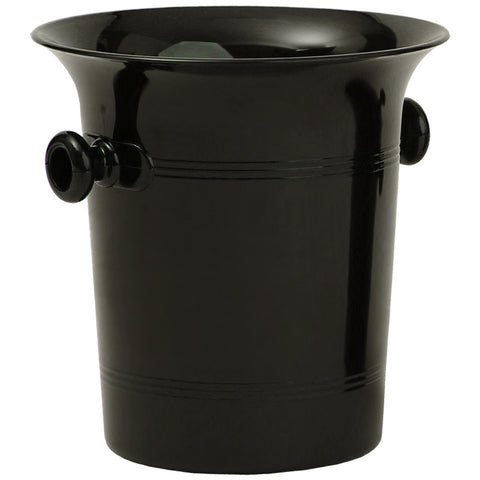 Wine Bucket, Black Plastic