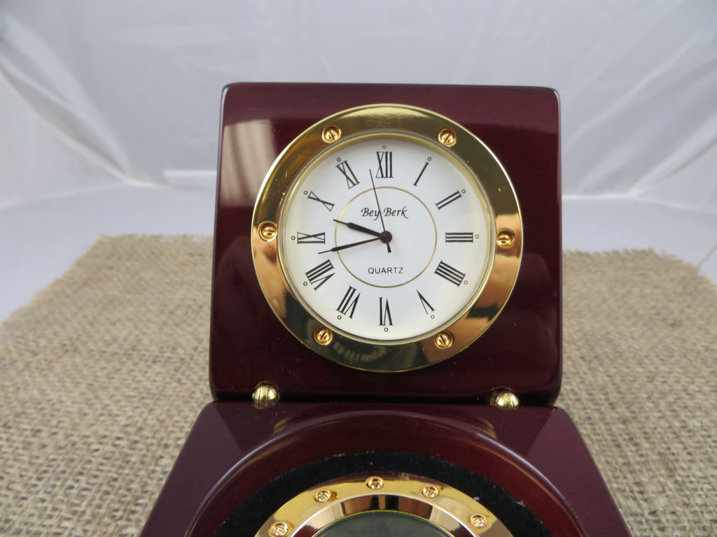Personalized Nautical Compass Clock