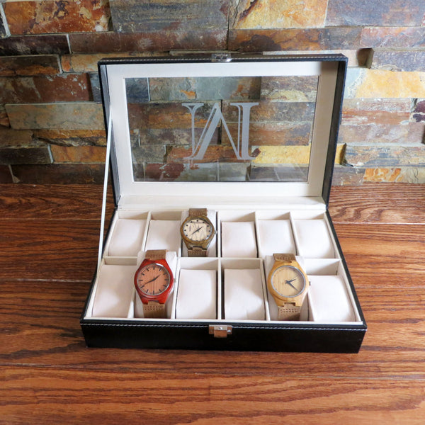 Personalized Watch Box Engraved