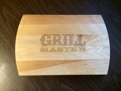 Grill Master Cutting Board Personalized