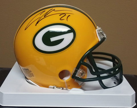 Charles Woodson Green Bay Packers Signed Mini Helmet