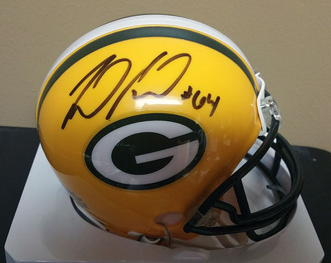 Mike Pennel Green Bay Packers Signed Mini Helmet