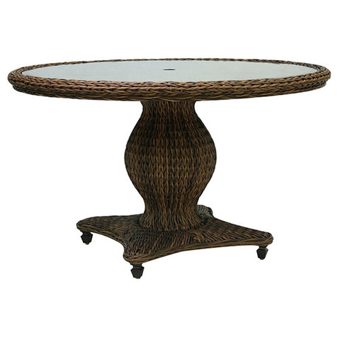"Patio Renaissance Antigua Collection Outdoor 50"" Round Dining Table"