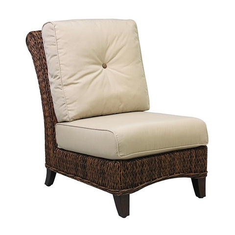 Patio Renaissance Antigua Collection Outdoor Armless Chair