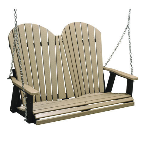 "Berlin Gardens ""Comfo-Back"" Double Swing (Stainless Chains)"