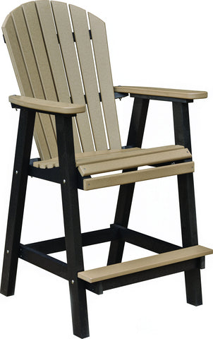 "Berlin Gardens ""Comfo-Back"" Bar Chair"