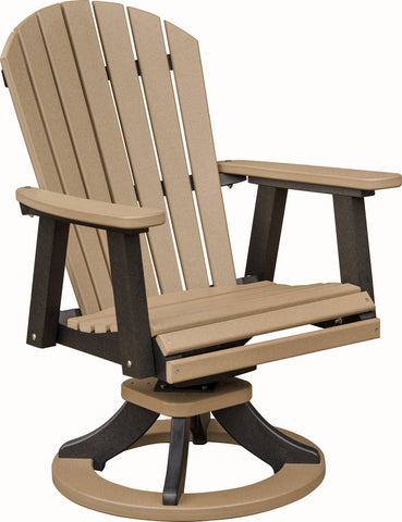 "Berlin Gardens ""Comfo-Back"" Swivel Rocker Dining Chair"