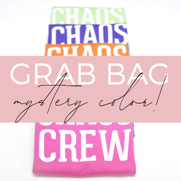 GRAB BAG: Chaos Crew Kids Tee - Mystery Color [ships in 3-5 business days]
