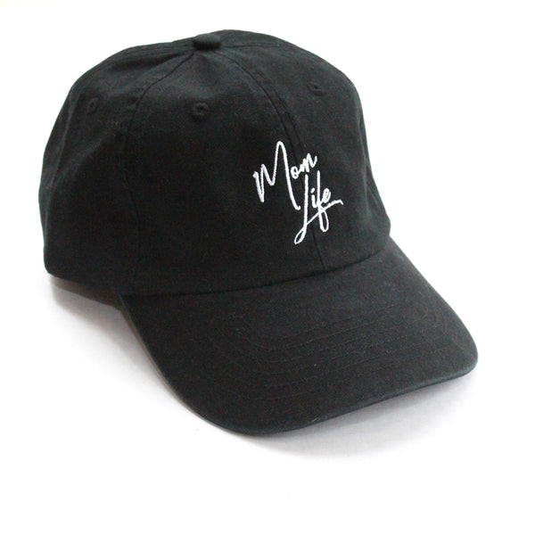 Mom Life Baseball Cap (black)