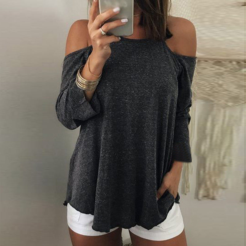 Womens Sexy Sling Backless Top T-shirt