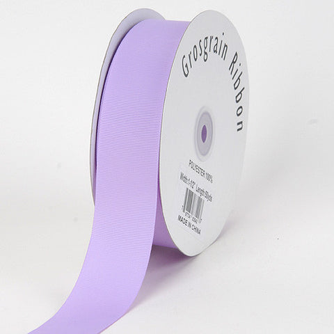 Grosgrain Ribbon Solid Color Lavender ( W: 1-1/2 inch | L: 50 Yards ) -