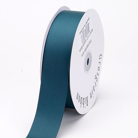 Grosgrain Ribbon Solid Color Teal ( W: 7/8 inch | L: 50 Yards ) -