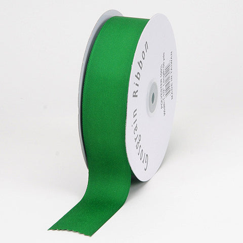 Grosgrain Ribbon Solid Color Emerald ( W: 7/8 inch | L: 50 Yards ) -