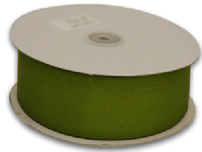 Grosgrain Ribbon Solid Color 25 Yards Spring Moss ( W: 5/8 inch | L: 25 Yards ) -
