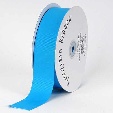Grosgrain Ribbon Solid Color Turquoise ( W: 5/8 inch | L: 50 Yards ) -