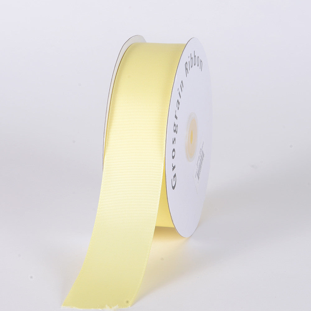 Grosgrain Ribbon Solid Color Baby Maize ( W: 2 inch | L: 50 Yards ) -