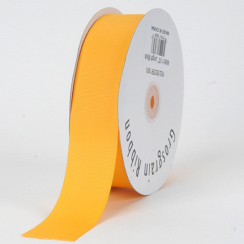 Grosgrain Ribbon Solid Color Light Gold ( W: 1-1/2 inch | L: 50 Yards ) -