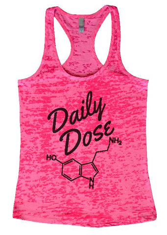 "RB Clothing Co ""Daily Dose of Serotonin"" Womens Funy Burnout Tank Top"