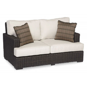 Sunset West Cardiff Outdoor Loveseat with Cushions