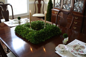 Mills Floral Mini Preserved Boxwood Ball on Stem Topiary - Life onPlum - 3