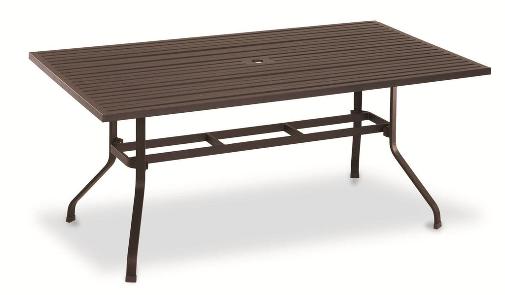 La Jolla 72 inch Rectangular Dining Table by Sunset West Life on Plum